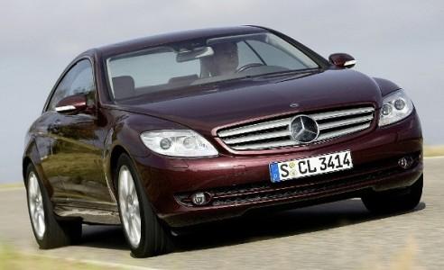 Mercedes Benz CL500, una combinación de lujo y velocidad