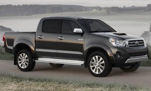 Toyota Hilux 2012: para los que quieren con que trabajar
