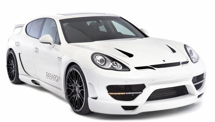 Porsche Panamera modificado por Hamann
