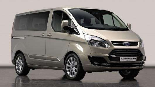Ford Tourneo Custom: Trabaja con estilo