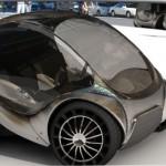Hiriko: Un automóvil eléctrico futurista.