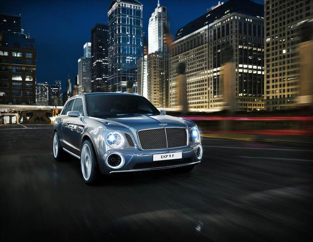 La nueva SUV de Bentley