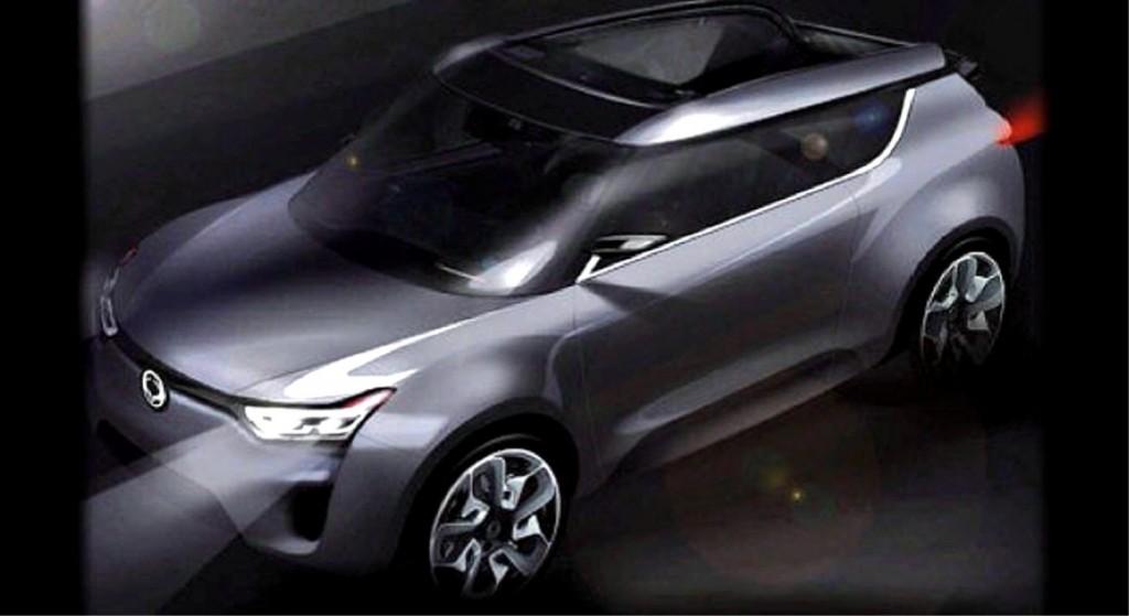 SsangYong XIV- 2 Concept: Un completo diseño futurista.